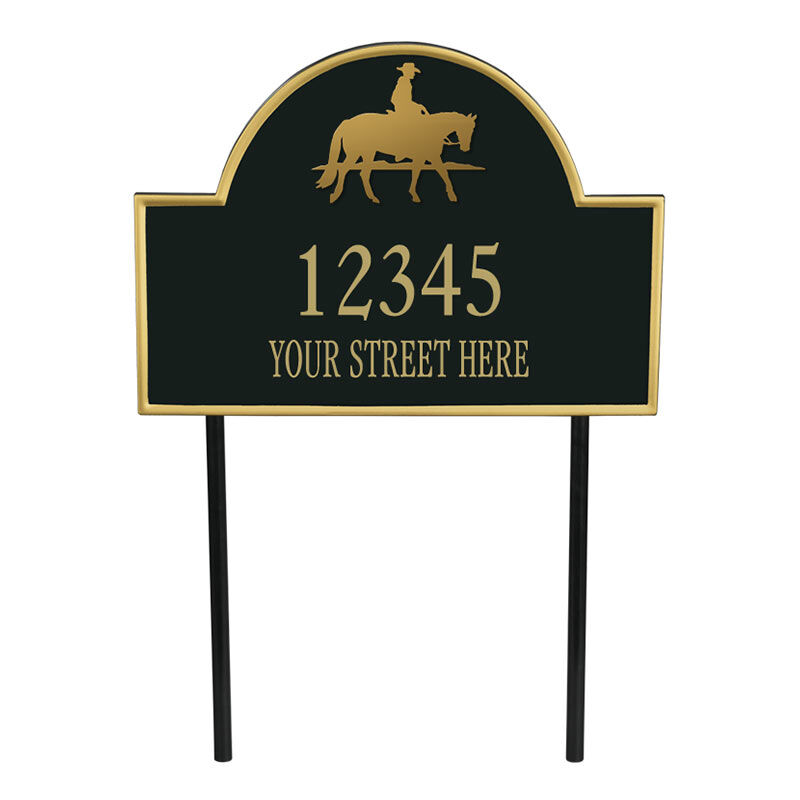 The Colorado Personalized Address Plaque 1073 006 7 1