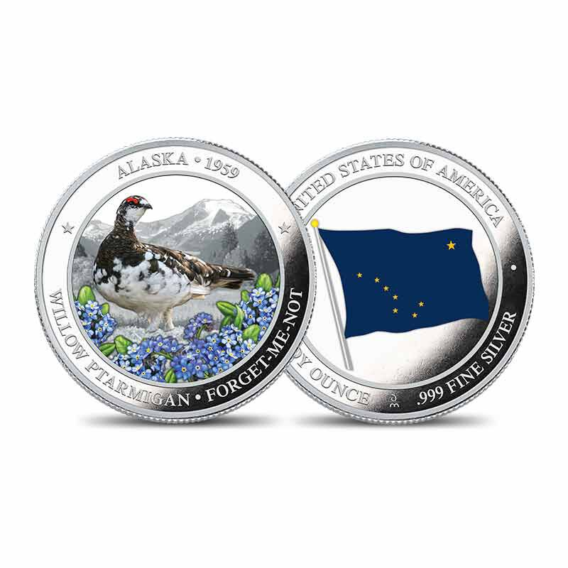 The State Bird and Flower Silver Commemoratives 2167 007 0 1