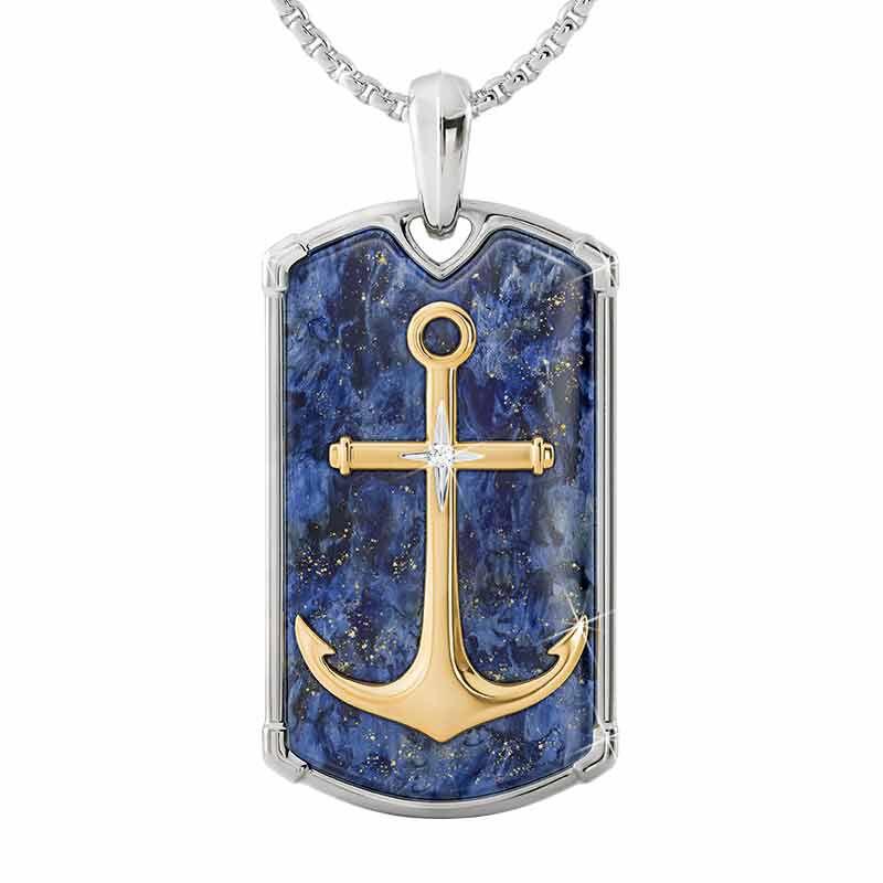 Let Faith Be Your Anchor Grandson Pendant 2576 001 8 1