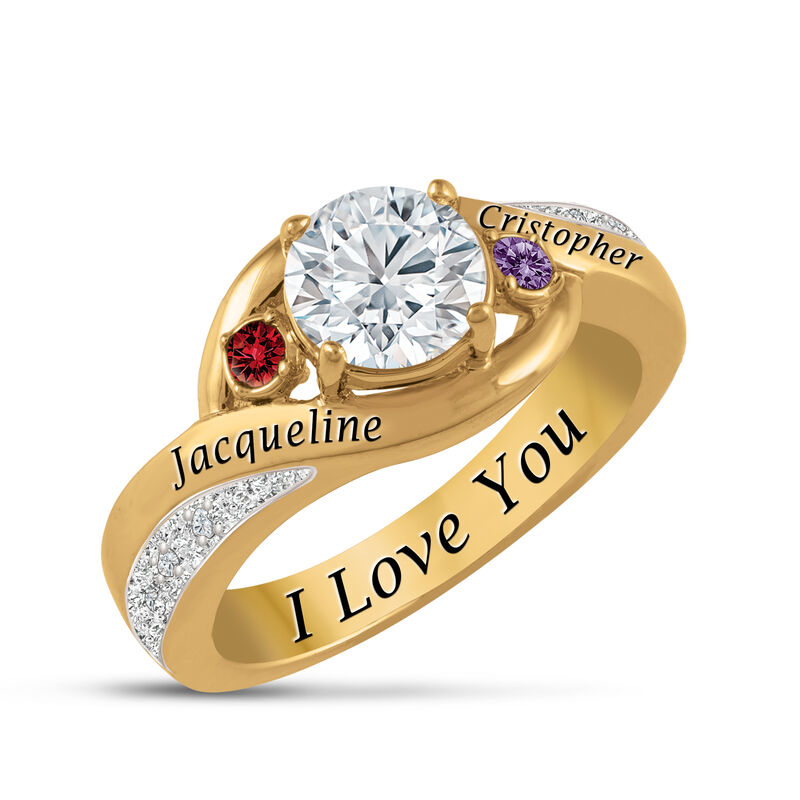 The Forever Personalized Diamond Ring 6900 0016 a maina