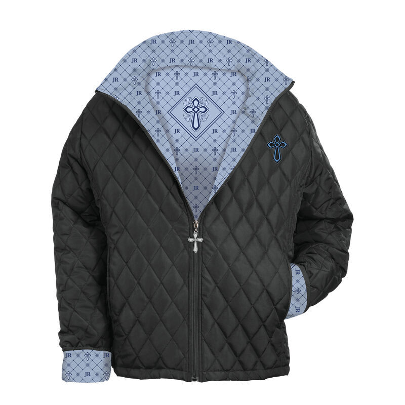 Personalized Womens Cross Quilted Jacket 6566 001 1 1
