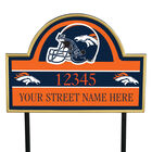 NFL Pride Personalized Address Plaques 5463 0405 a broncos