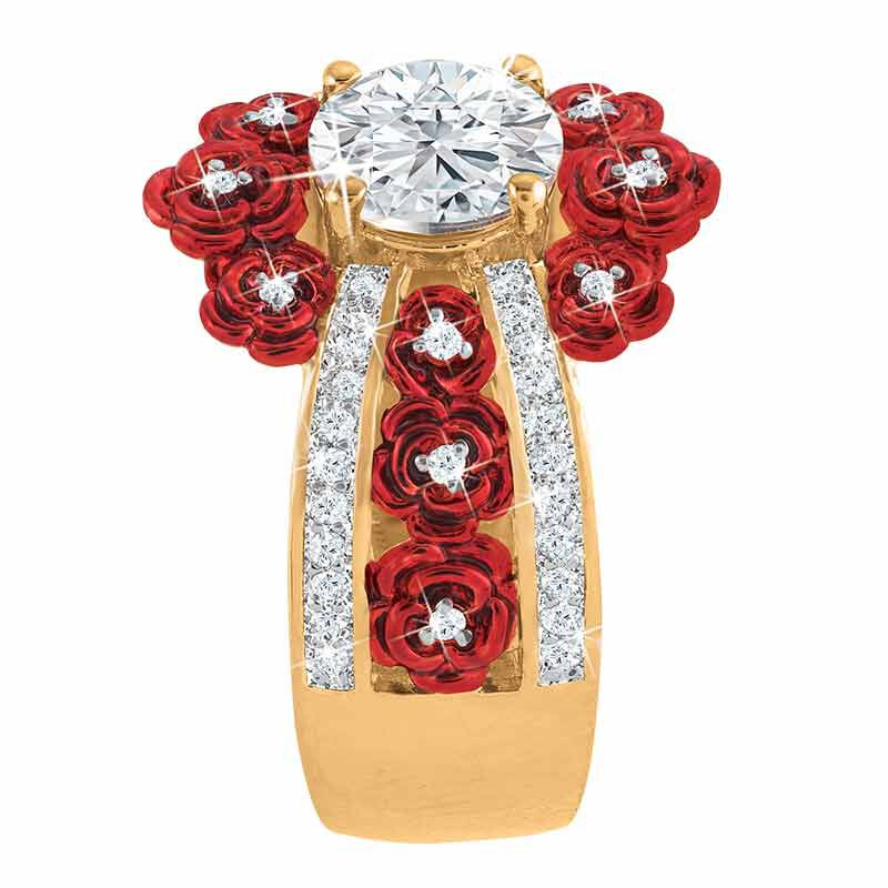 A Bouquet of Roses Diamond Ring 6272 001 6 2
