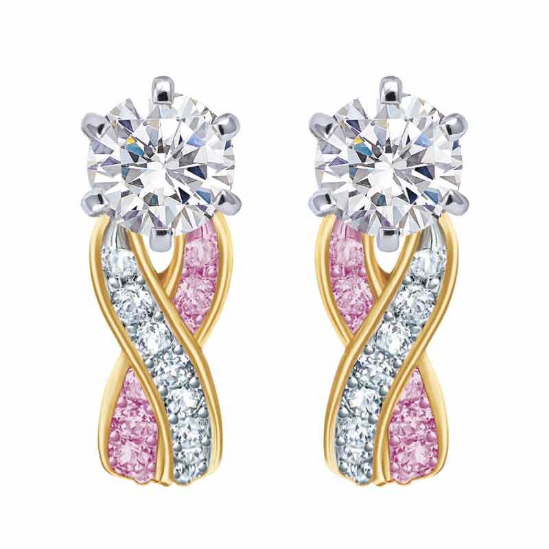 Birthstone Swirl Earrings 2647 001 3 6