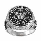 Silver Salute US Army Ring 2541 001 0 4