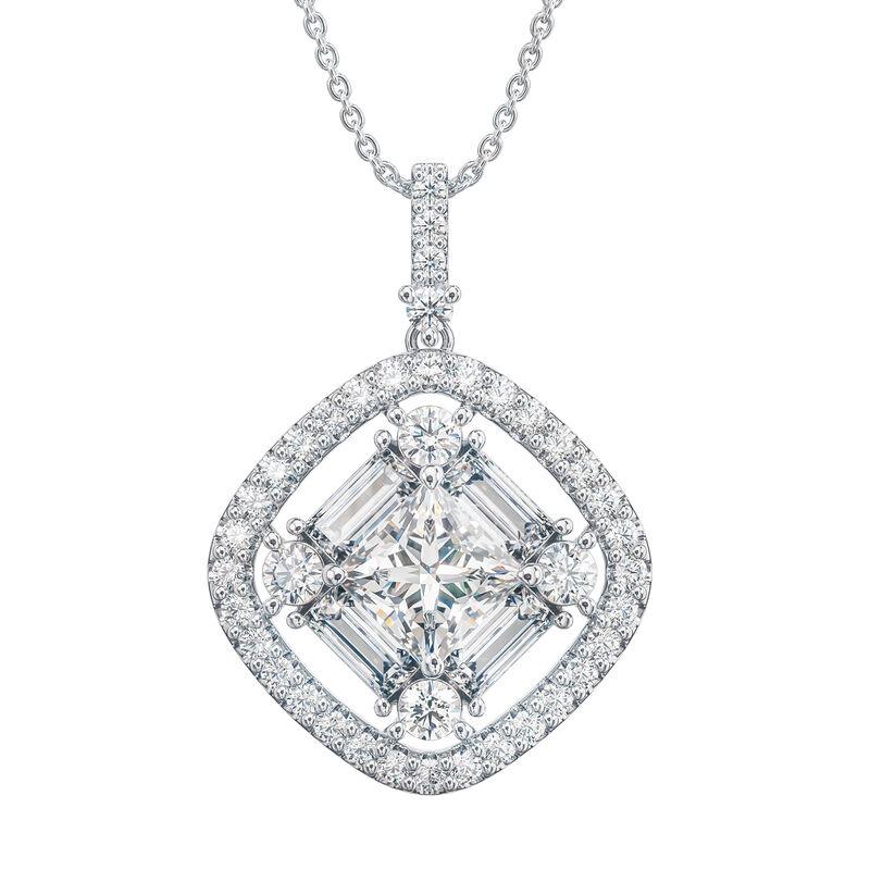 Refined Elegance Sterling Silver Set 6735 0017 b pendant