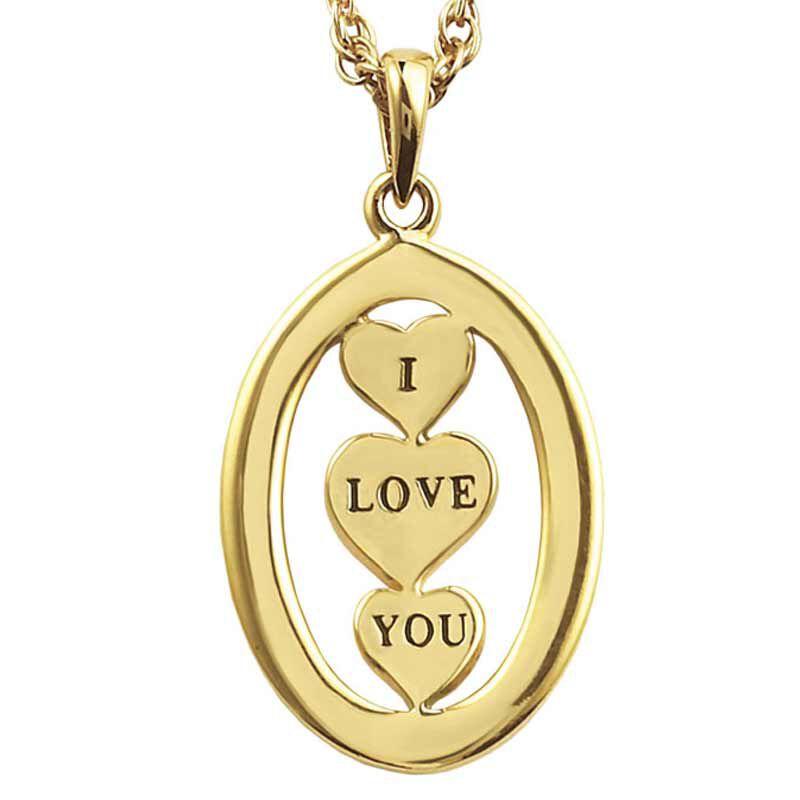 I Love You Diamond Pendant 9406 002 7 3