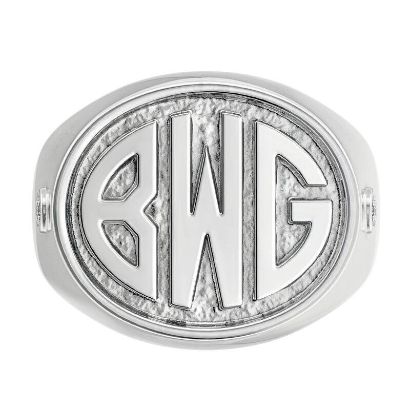 Mens Diamond Signet Ring 6846 001 3 3