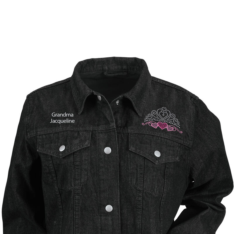 Glamma Denim Jacket 6682 0010 b close up