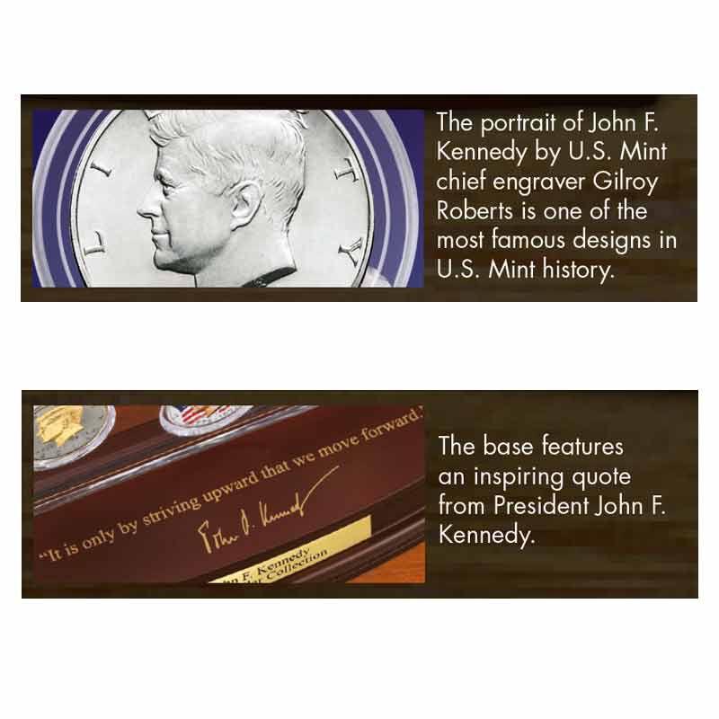 John F Kennedy Half Dollar Collector Set 2158 001 4 7