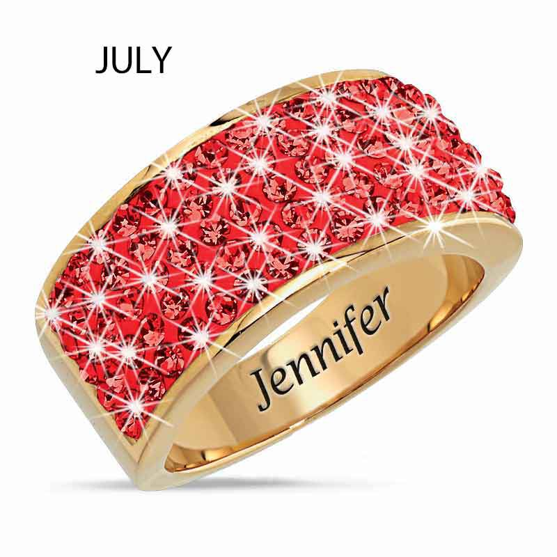 Personalized Birthstone Fire Ring 5806 002 1 8