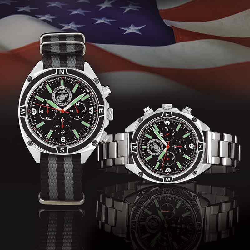 US Marine Corps Chronograph Watch 5406 003 3 3