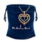 Personalized Birthstone Diamond Pendant 10138 0012 m gift pouch
