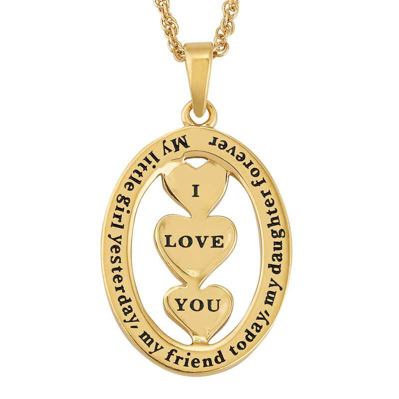 My Daughter I Love You Diamond Pendant 2965 004 1 3