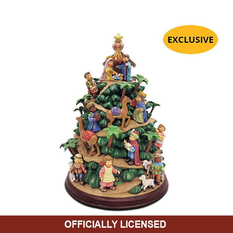 The MI Hummel Nativity Tree 6435 0010 a main