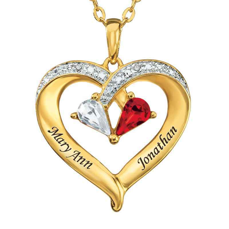 Forever Together Crystal  Diamond Heart Pendant 9782 014 6 1