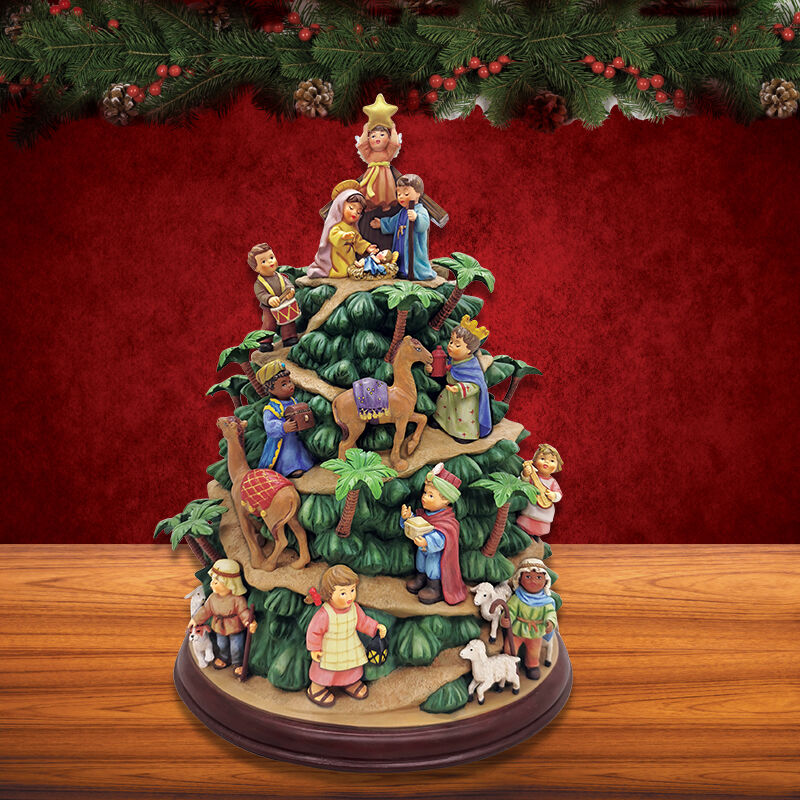 The MI Hummel Nativity Tree 6435 0010 c room