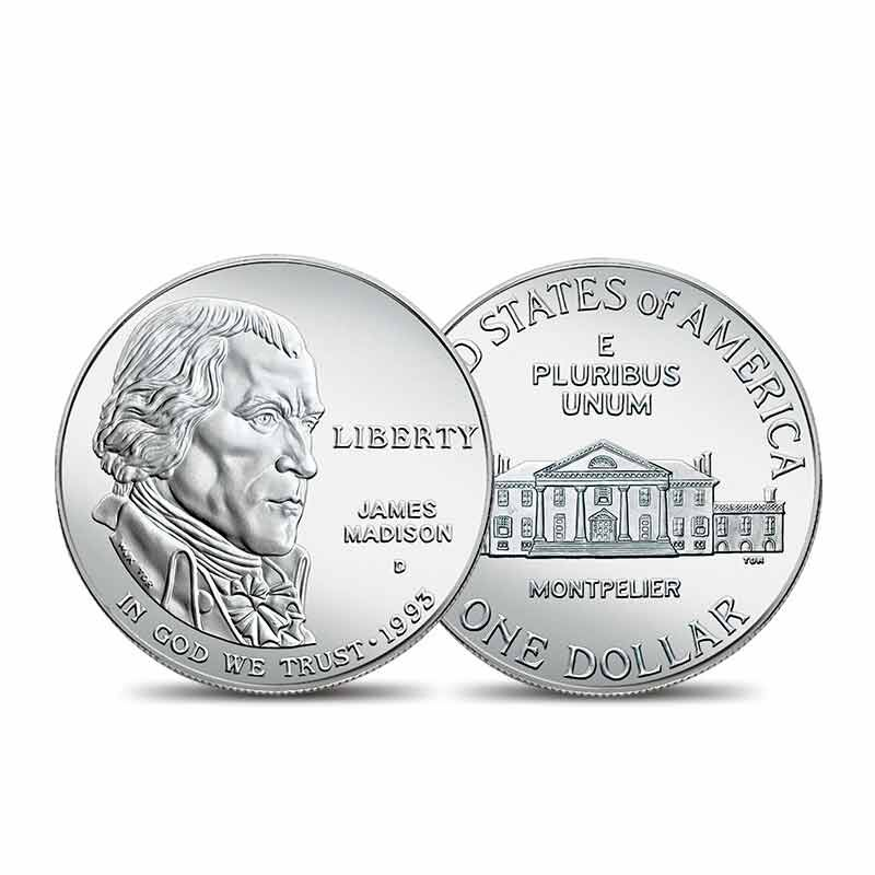 The American Dream US Silver Dollar Collection 6660 001 6 3