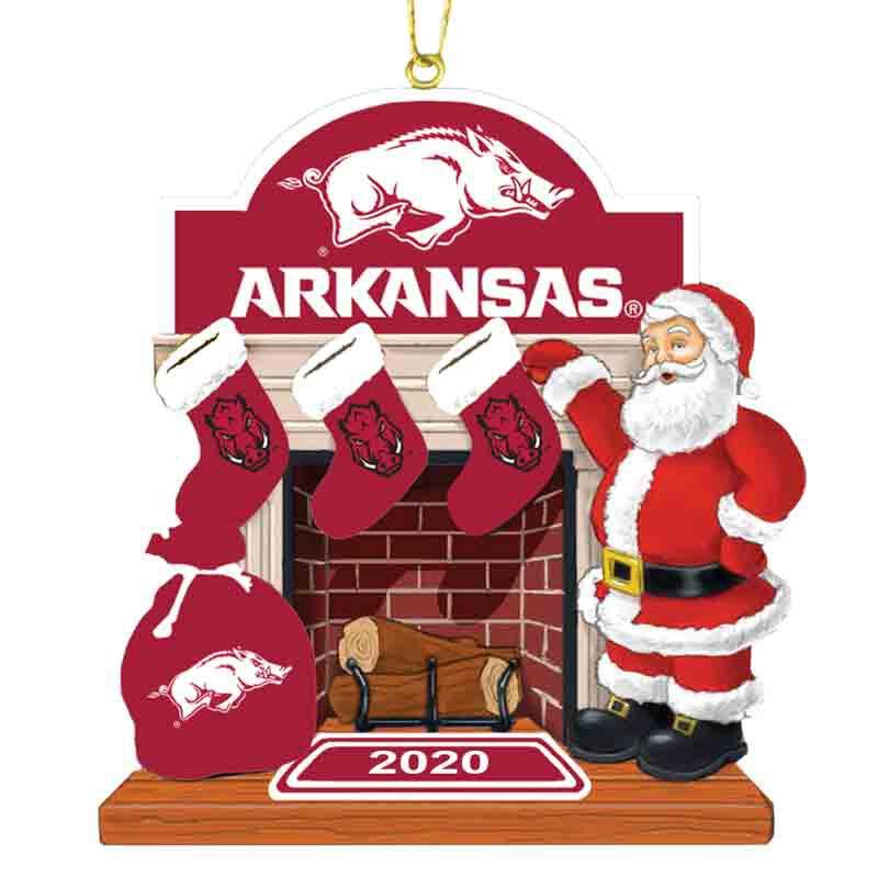 The 2020 Razorbacks Ornament 5040 259 3 1