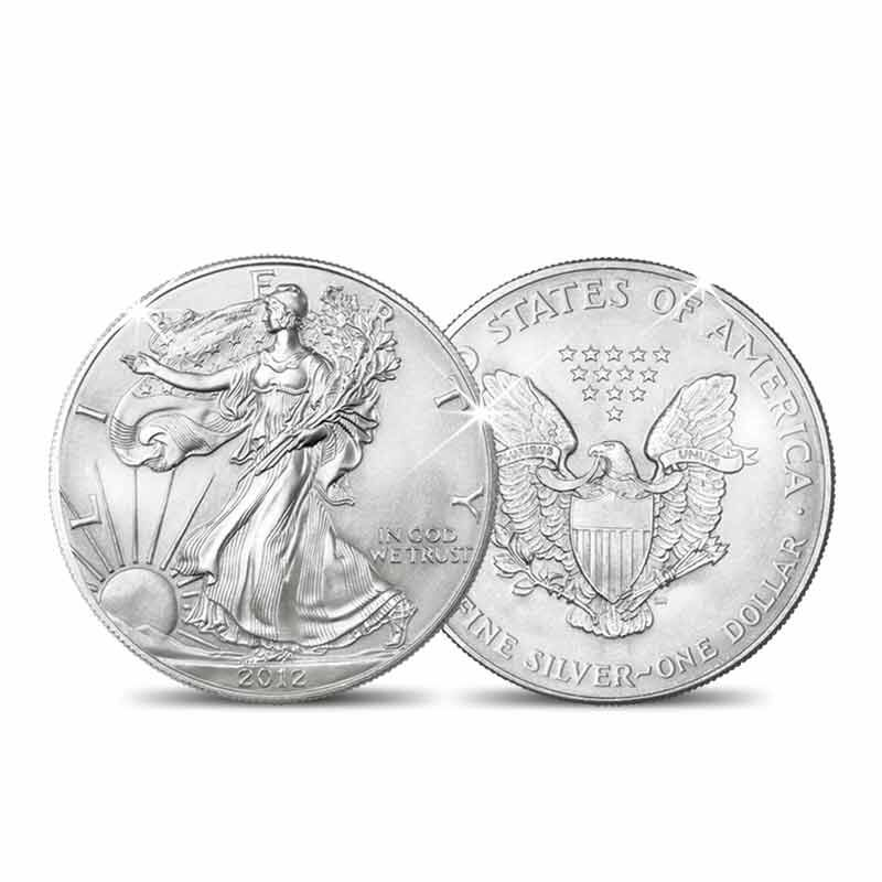 American Silver Eagles of New Millennium 2845 001 3 4