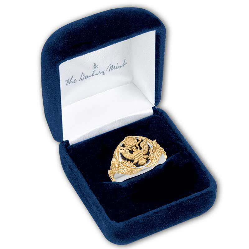 Personalized Army Eagle Ring 5323 007 4 3