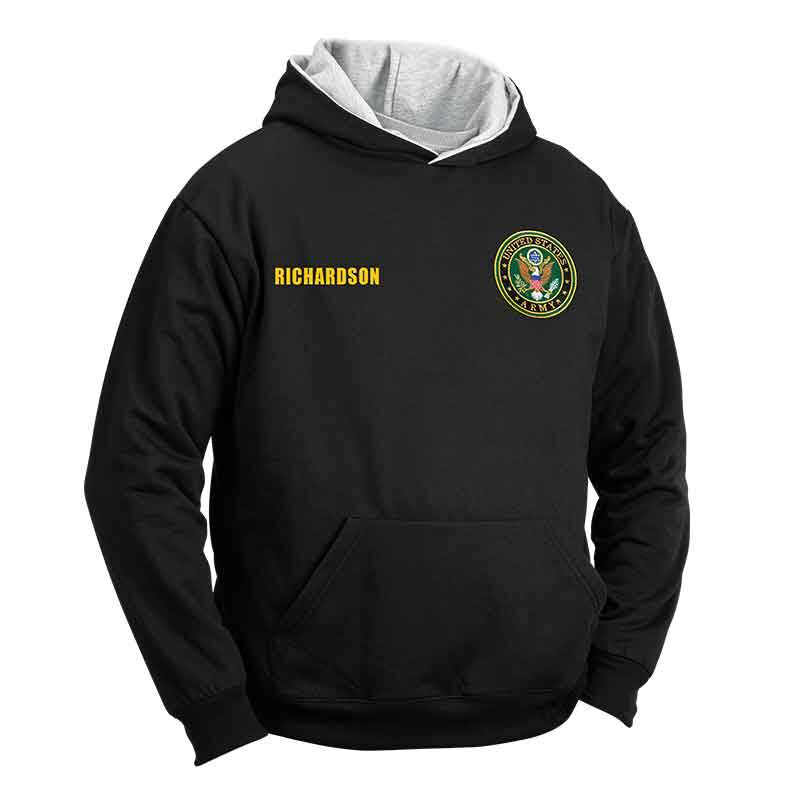 Personalized Reversible US Army Hoodie 5618 001 1 1