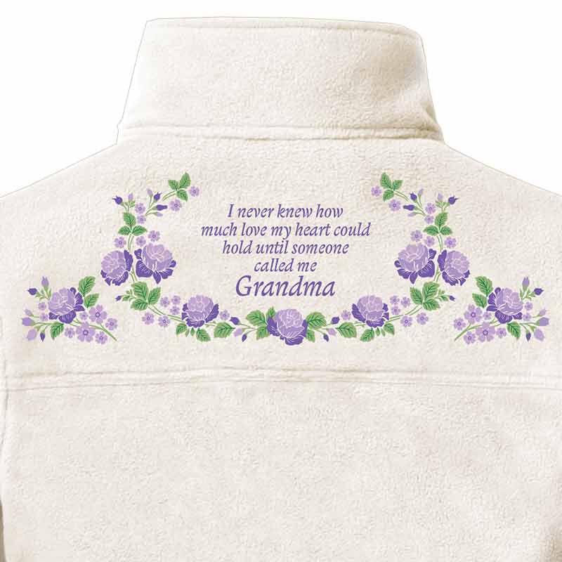 The Grandmas Love Fleece Jacket 2316 001 3 4