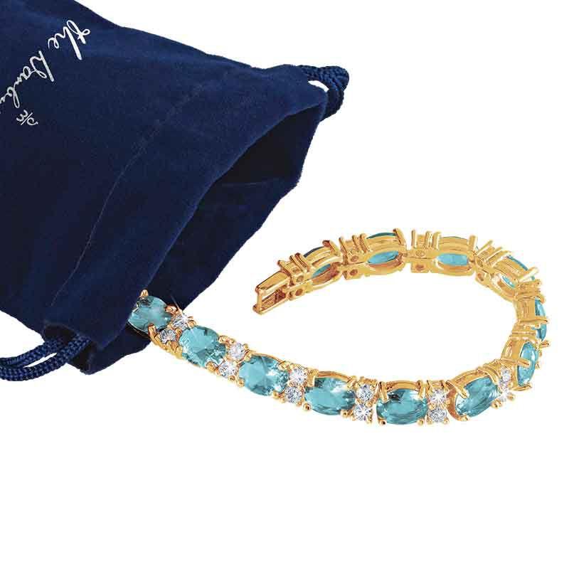Birthstone Tennis Bracelet 1265 001 6 15