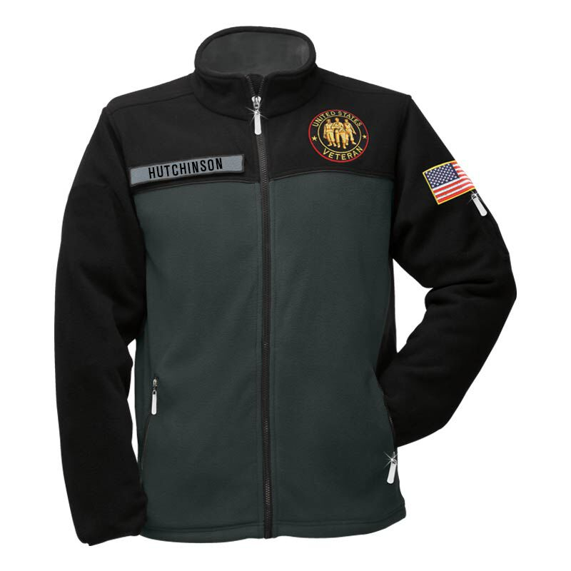 The US Veteran Fleece jacket 1666 001 1 1
