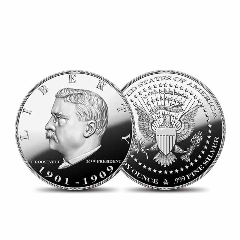 US Presidential Silver Commemoratives 9154 006 2 4