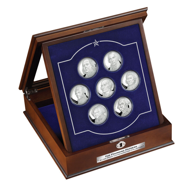 The Founding Fathers Silver Proof Commemoratives Collection 6287 001 9 5