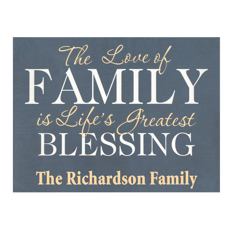 The Personalized Blessing Wood Sign 5694 001 8 1