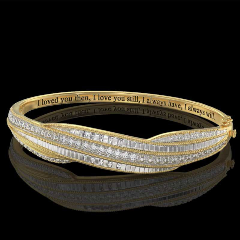 I Love You Diamond Bangle 9474 002 4 3