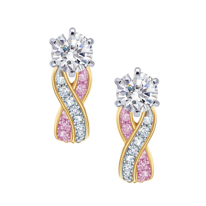 Birthstone Swirl Earrings 6243 0038 f june
