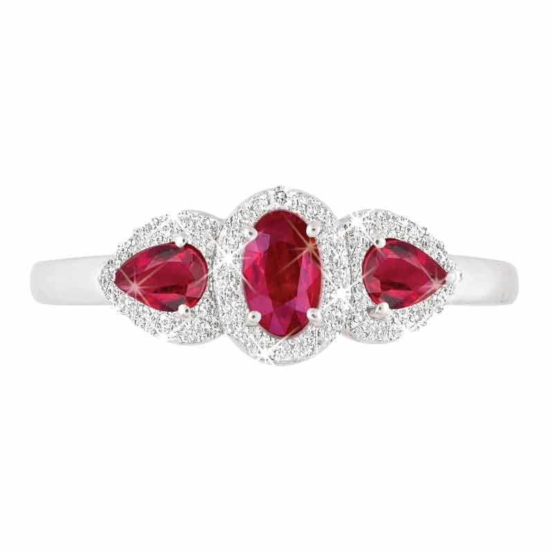 I Love You Ruby  Diamond Ring 1993 001 5 2
