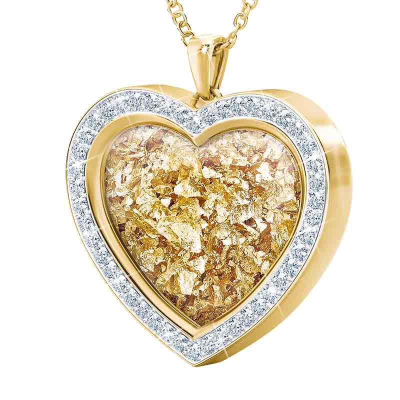 Heart of Gold Pendant 1816 002 8 3