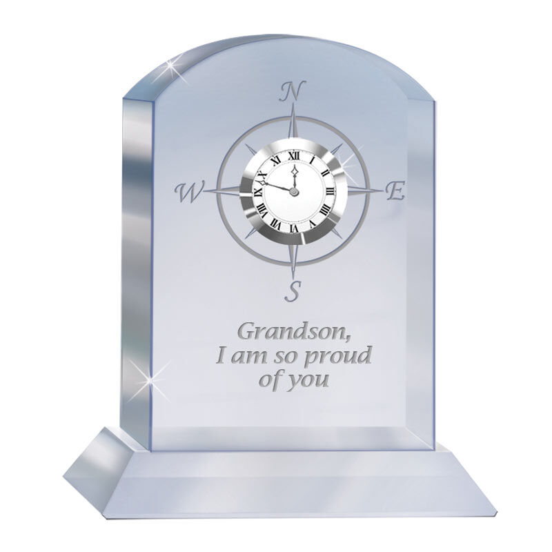 Grandson Crystal Clock 1276 001 3 1