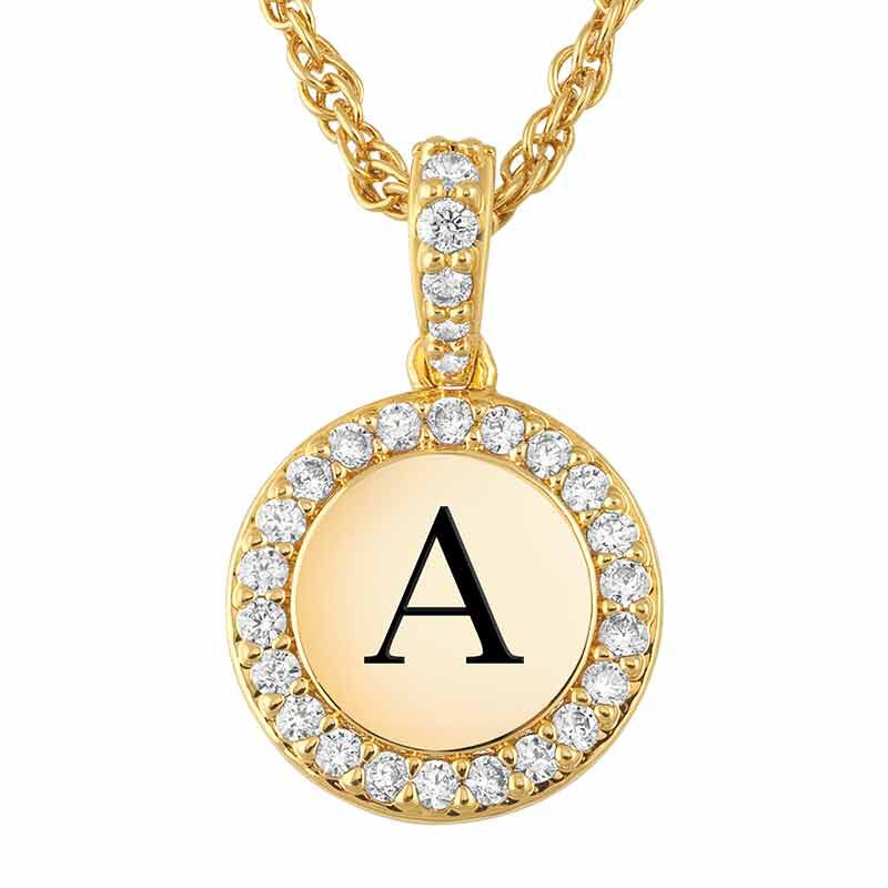 Personalized Initial Pendant 1412 005 9 1