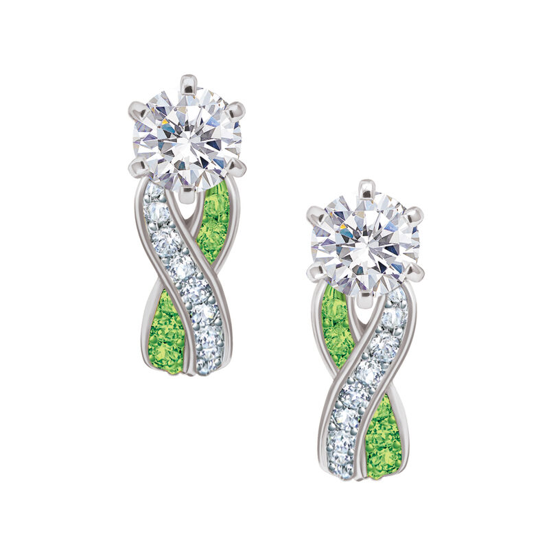 Birthstone Swirl Earrings 6366 0021 h august