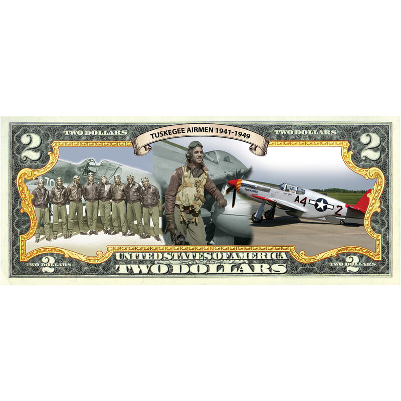 Tuskegee Airmen Coin Currency Set 10122 0010 e bill