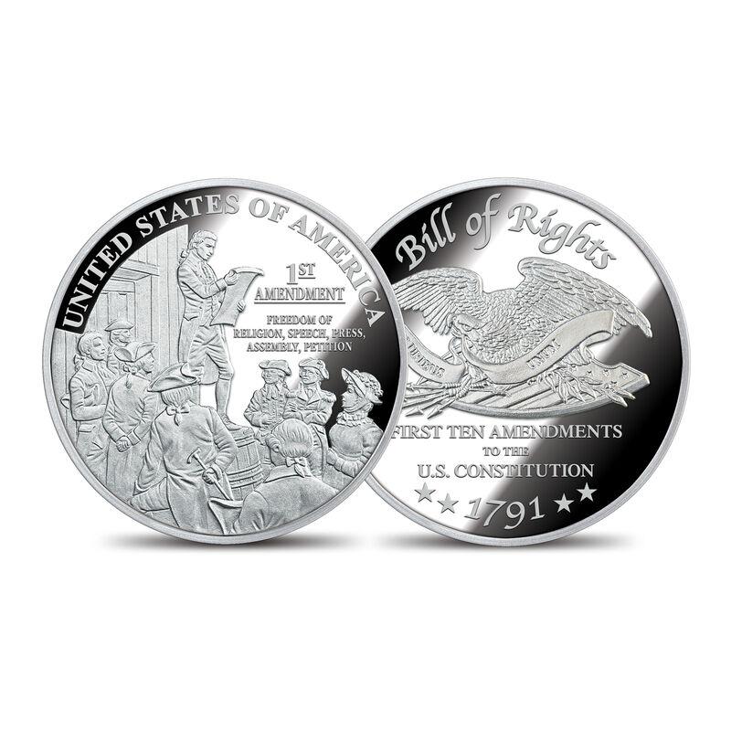 The Bill of Rights Silver Bullion Commemoratives 6530 0022 a commemorative1