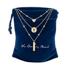 Love in Jesus Language Diamond Pearl Necklace 10226 0015 g gift pouch