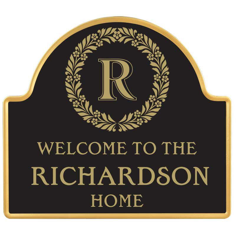 The Monogrammed Welcome Sign 6096 001 0 1