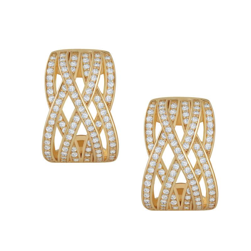 The Golden Swirl Diamonisse Earrings 6362 0017 a main