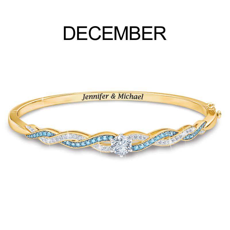 Birthstone Swirl Bracelet 5821 002 2 13