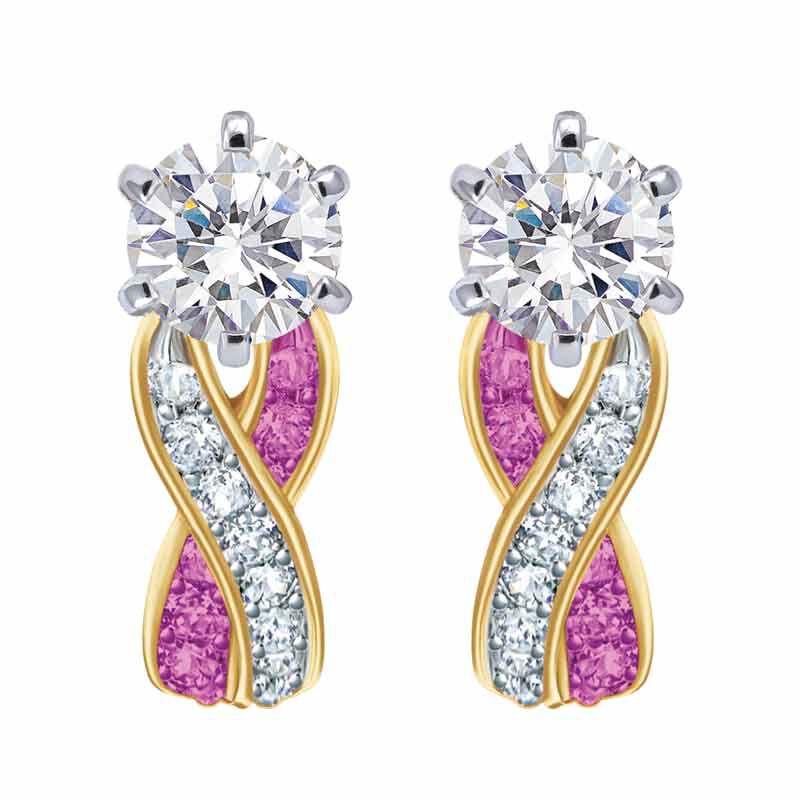Birthstone Swirl Earrings 2647 001 3 10