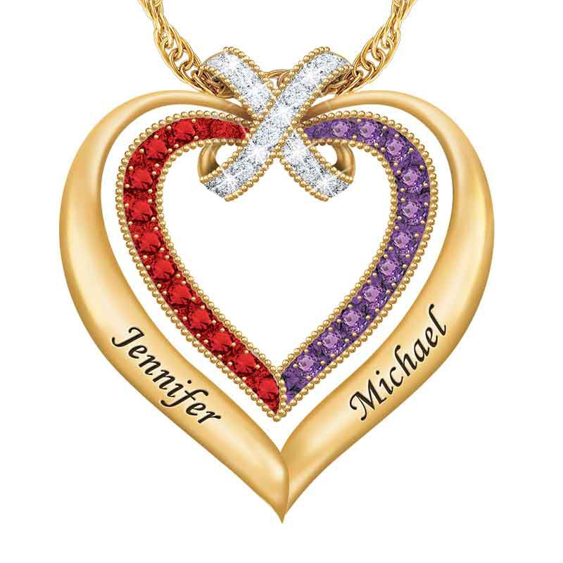 Joined in Love Heart Pendant 2392 001 0 1