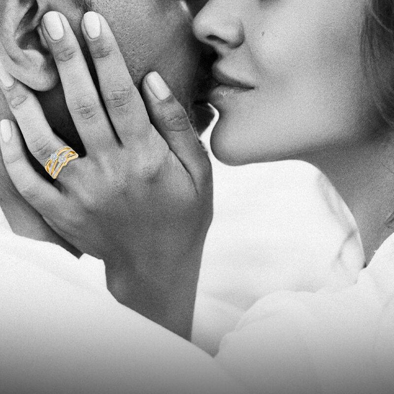 You Me Forever Secret Message Diamond Ring 10206 0019 m model