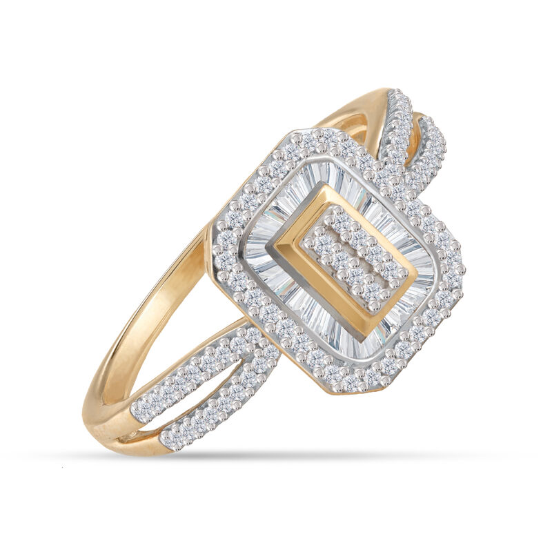 Diamond Grandeur Rectangle Ring 6534 0010 a main