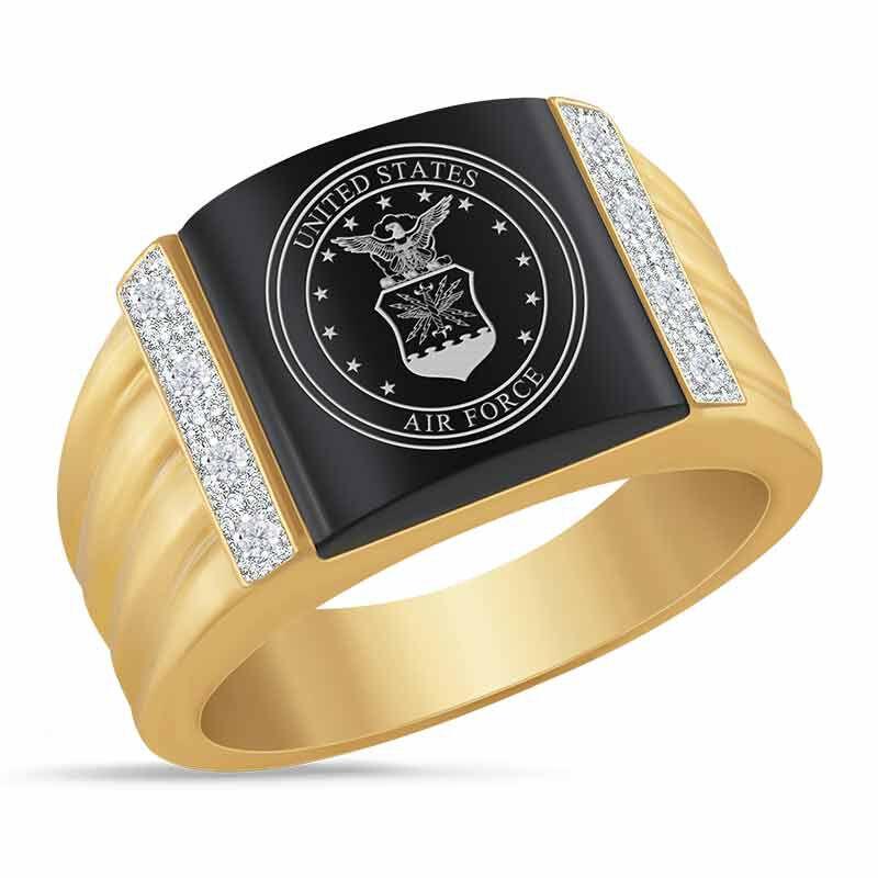 Air Force Prestige Mens Ring 6266 004 8 1
